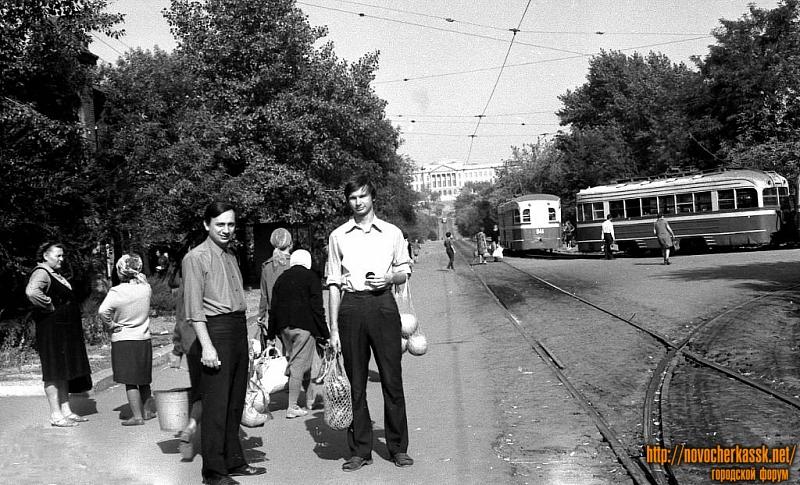 Ул. Орджоникидзе, район конечной трамвая