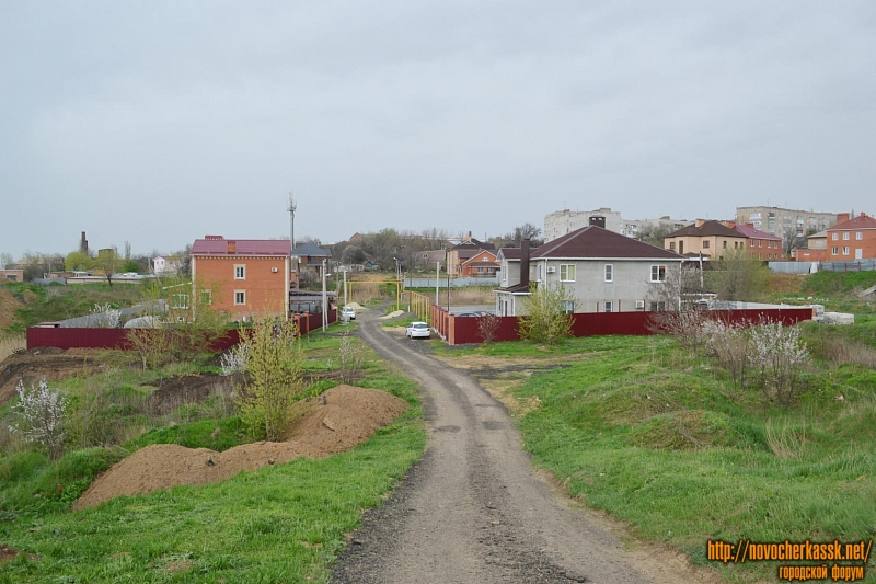 Вид на переулок Раздольный
