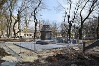 Возведение памятника студентам-добровольцам 1-й мировой войны