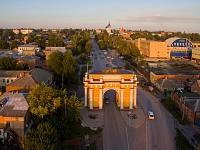 Проспект Платовский и триумфальная арка