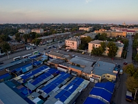 Азовский рынок и улица Богдана Хмельницкого