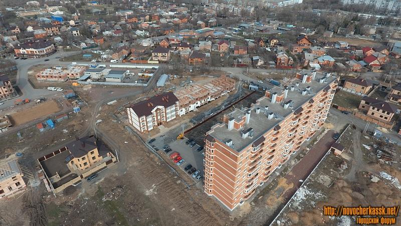ЖК «Западный» и строительство на улице Ященко