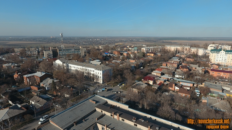 Вид на пересечение Пушкинской и Троицкой улиц