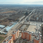 Вид на Черёмушки и территории завода Магнит