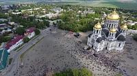 Площадь Ермака на День Победы - 2017
