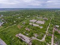Недостроенные очистные сооружения на въезде в Новочеркасск