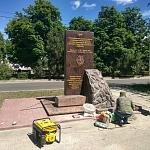 Сооружение памятника НВВККУС