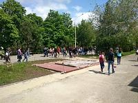 Подготовка к установке памятника на проспекте Платовском