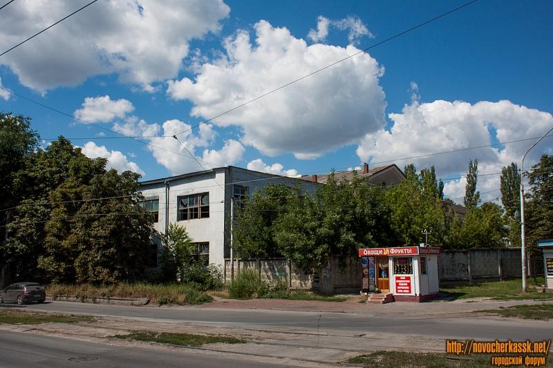 Бывший молочный завод. Вид с улицы 26 Бакинских комиссаров