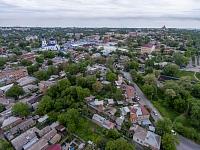 Вид в сторону Азовского рынка. Справа - Архангельская площадь