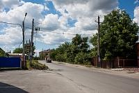 Улица Сарматская. Вид в сторону Ященко