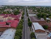 Панорама улицы Московской в сторону Троицкой площади
