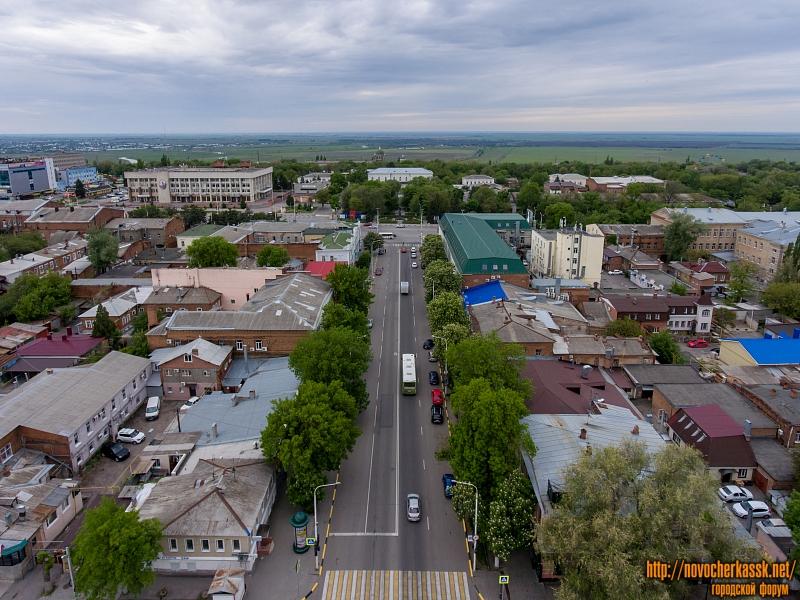 Первый квартал улицы Московской