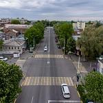 Пересечение Московской и улицы имени генерала Лебедя