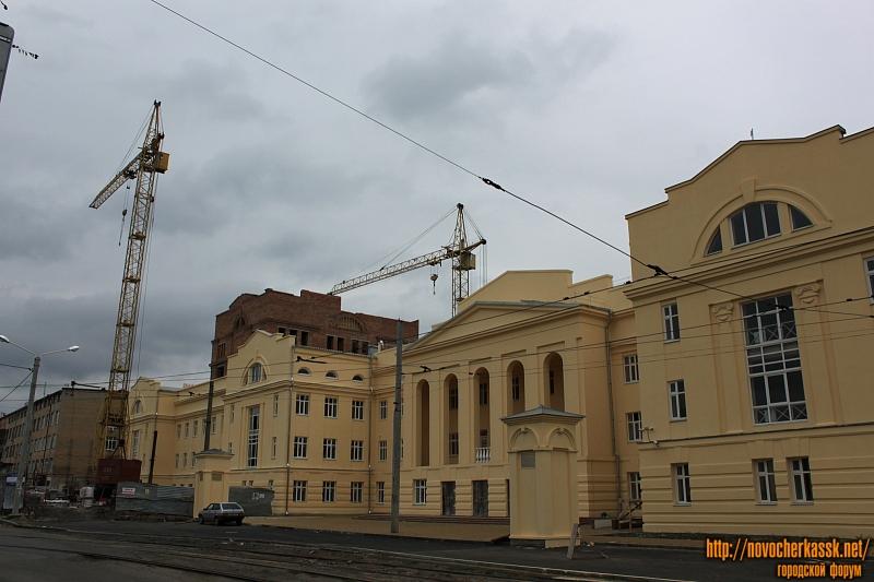 Строительство учебно-методического корпуса ЮРГПУ (НПИ)