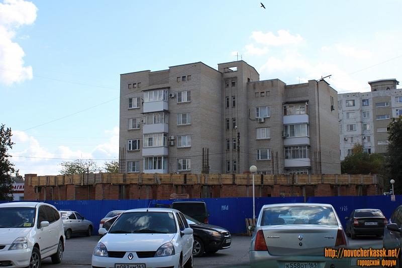 Строительство рядом с ТЦ «Поиск» на пр. Баклановском