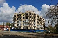 Строительство на углу Первомайской и Тургенева