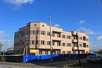 Строительство на углу Щорса и 26 Бакинских комиссаров