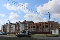Строительство на улице Ященко, 10