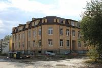 Строительство на углу Школьной и Фрунзе