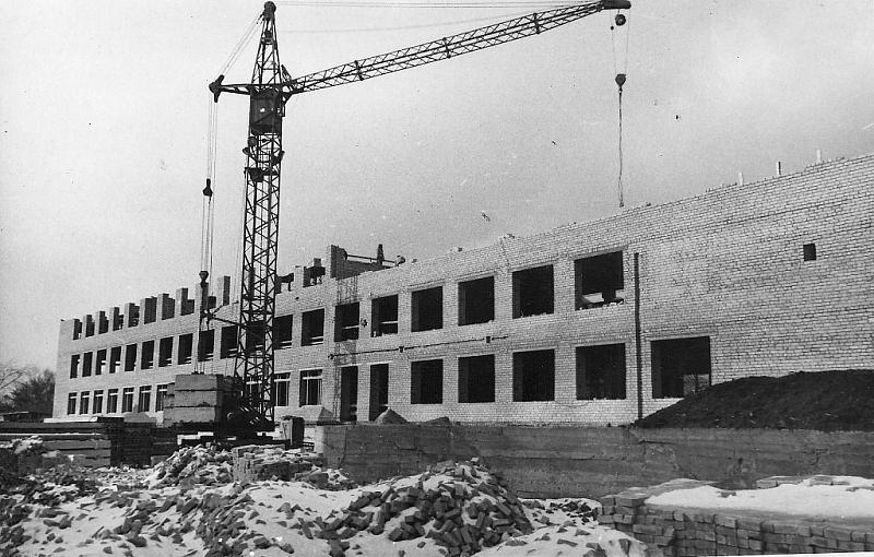 Строительство лабораторного корпуса  НПИ