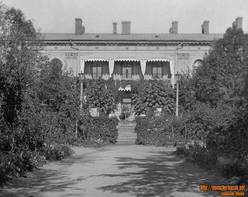 Атаманский дворец. Внутренний двор