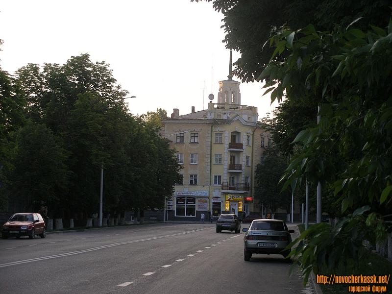 Дом на углу Московской и Кривопустенко