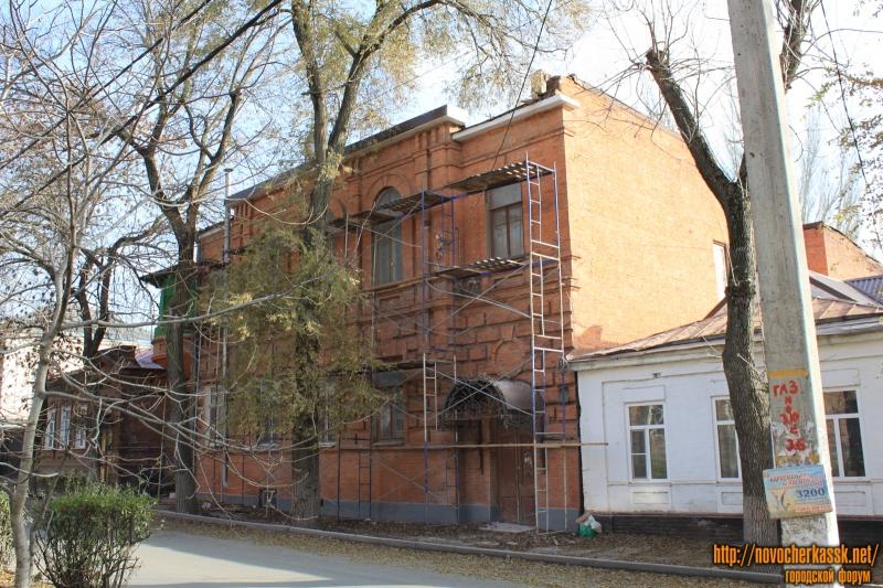 Ремонт дома по улице Дубовского, 17А