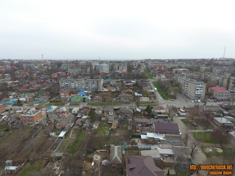 Вид на улицу кварталы между Крылова и Ленгника