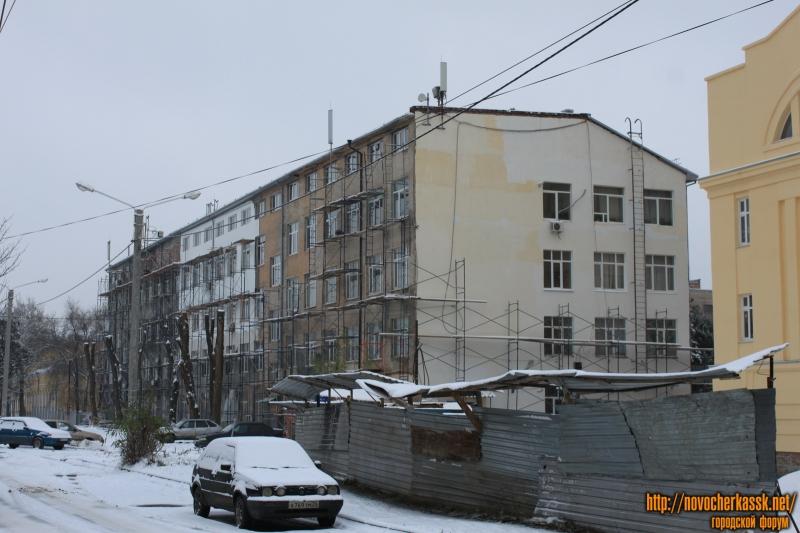 «Реновация» лабораторного корпуса ЮГРПУ (НПИ)