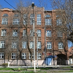 Школа-интернат № 28. Улица Дубовского