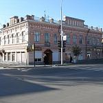Угол Московской и улицы им. генерала Лебедя. Универсам Центральный