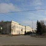 Школа №3. Проспект Ермака и пересечение его с Просвещения