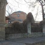 Забор в стиле «модерн» на углу площади Левски и улицы имени генерала Лебедя