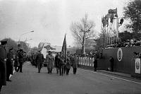 Демонстрация 7 ноября. Головная колонна НПИ