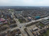 Вид на Трампарк и Черёмушки. Улица 26 Бакинских комиссаров