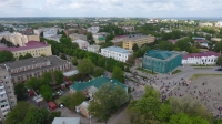 Вид на Платовский проспект и центральную часть города