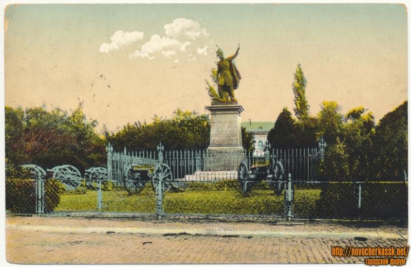 «Памятник гр. Платову»