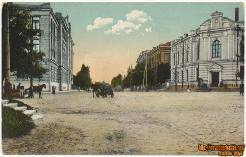 «Судебная палата и музей». Пересечение Атаманской и Платовского