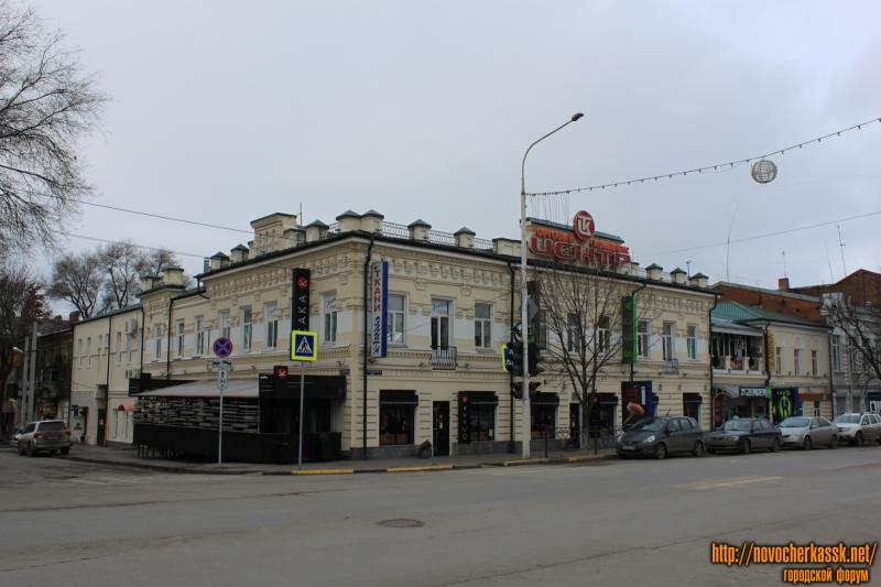 Угол Московской и ул. им. генерала Лебедя