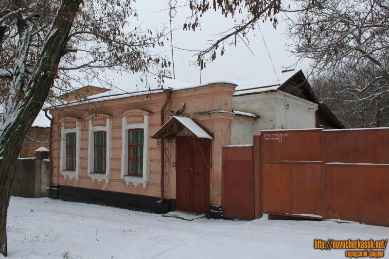 Переулок Галины Петровой, 11