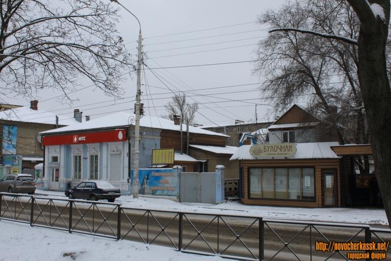 Проспект Баклановский. Слева дом № 68