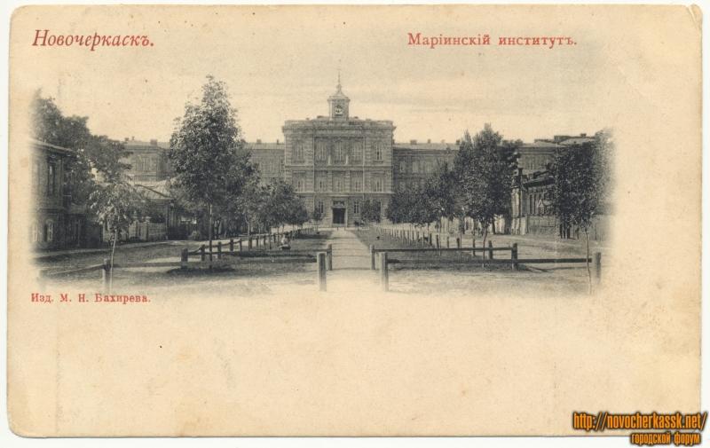 Мариинский институт (вид с улицы Московской вдоль Среднего переулка (Кривопустенко))