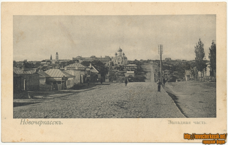 Западная часть (вид на улицу Богдана Хмельницкого)