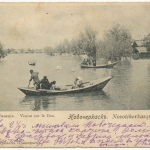 «Донская Венеция. Новочеркасск». На открытке скорее всего Старочеркасск