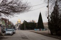 Проспект Платовский. Новогодняя ёлка-2018