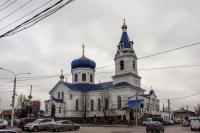 Михайло-Архангельский храм. Угол Платовского и улицы Михайловской