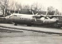 Самолёт в детском парке