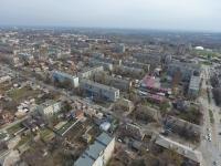 Вид на жилые кварталы на улице Будённовской и Народной