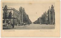 Московская улица. Вид с Платовского проспекта